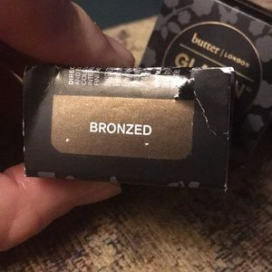 butter LONDON Makeup - FREE Butter / London new in box gold color